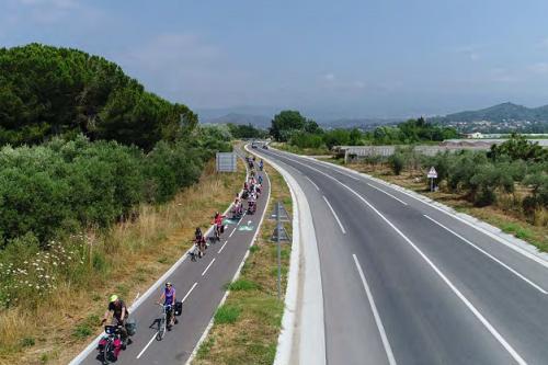 Section de la Siagne entre Pegomas et Mandelieu – RD1009
