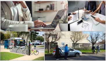 Télétravail, coworking, plan de mobilité employeur : quels impacts sur la mobilité ?