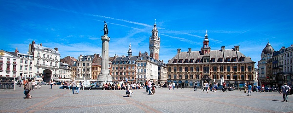 Vue de la Grand place de Lille