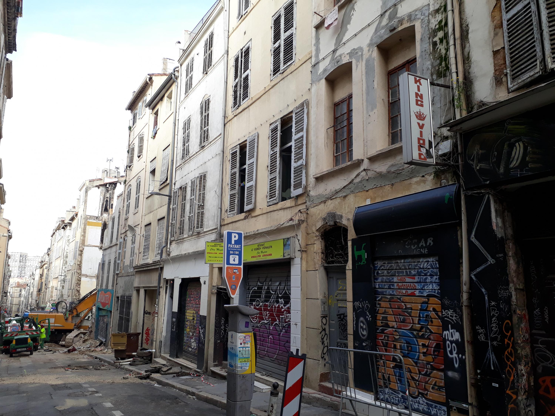 Bureau D Étude Béton Marseille effondrement d'immeubles à marseille: le cerema apporte son