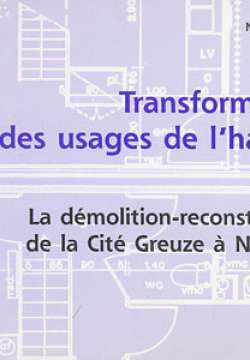 Transformation des usages de l'habitat