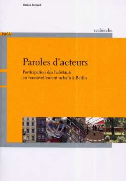 Paroles d'acteurs