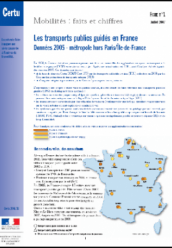 Mobilities : facts and figures, leaflet n°2
