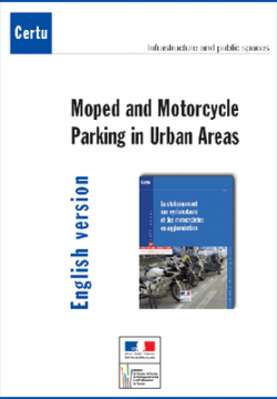 Moped and motorcycle parking in urban areas