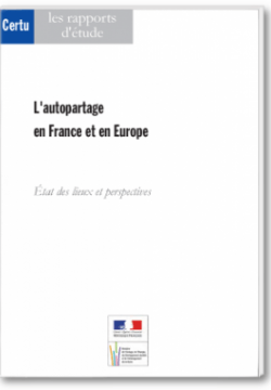 Autopartage (l') en france et en europe
