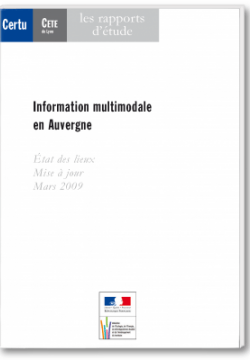 Information multimodale en auvergne