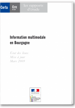 Information multimodale en Bourgogne
