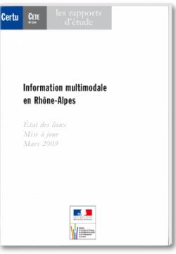 Information multimodale en Île-de-France
