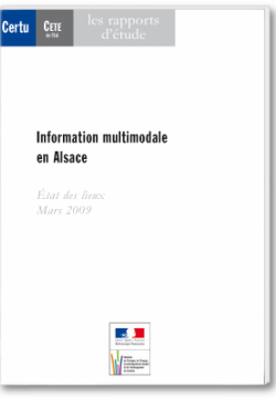 Information multimodale en Alsace