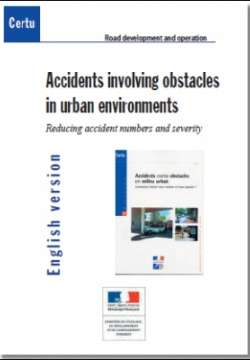 Accidents involving obstacles in urban environments
