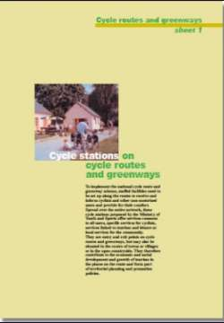 Cycle stations on cycle routes and greenways