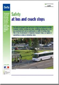 Safety at bus and coach stops