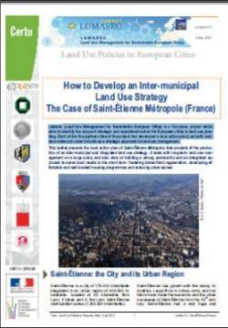 LUMASEC. Land use policies in European cities N° 1-2-3-4-5