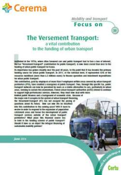 Mobility and transports: focus on - sheets N° 9-11-12-13-16-25-27-30
