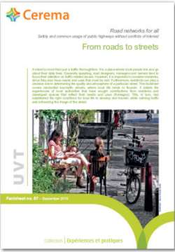 Streets for all : Safety and common usage on public streets without conflicts of interest - sheets 00-1-4-5-7