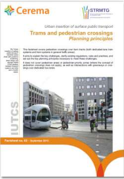 Urban insertion of surface public transport IUTCS - sheets 1 - 2