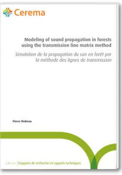 Modeling of sound propagation in forests using the transmission line matrix method - Simulation de la propagation du son en forêt par la méthode des lignes de transmission