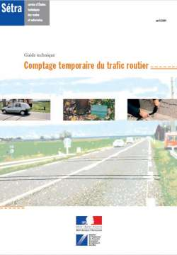 Comptage temporaire du trafic routier - Guide technique