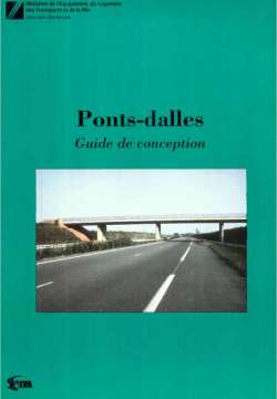 Ponts-dalles - Guide de conception