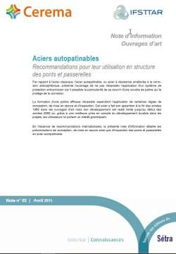 Note d'information Ouvrages d'art n°2