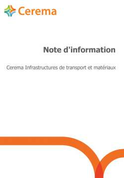 Natura 2000 - Principes d'évaluation des incidences des infrastructures de transports terrestres