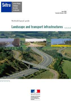 Landscape and transport infrastructures