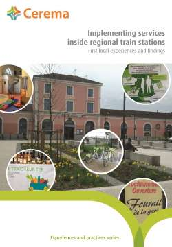 Implementing services inside regional train stations