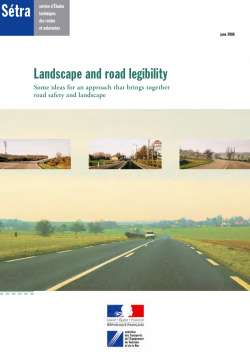 Landscape and road legibility
