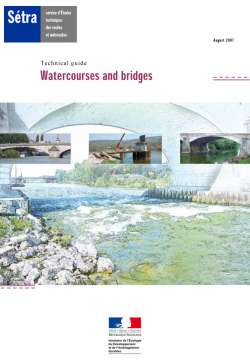 Technical guide - Watercourses and bridges