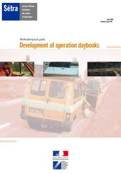 Development of operation daybooks