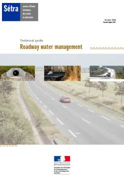 Roadway water management