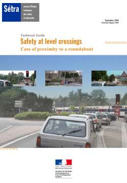 Technical Guide - Safety at level crossings