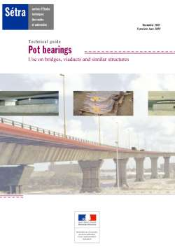 Pot bearings
