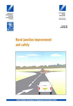 Rural junction improvement and safety
