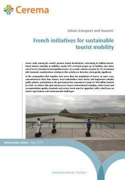 French initiatives for sustainable tourist mobility