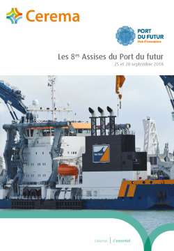 Assises du Port du futur