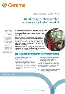 Billetique interopérable au service de l'intermodalité