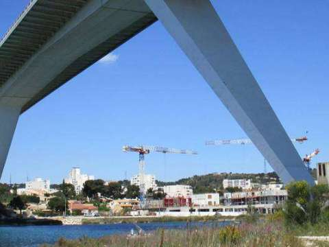 Photo du viaduc de Martigues