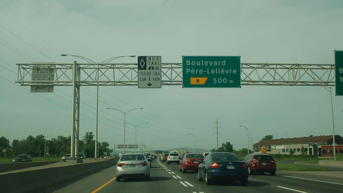 Covoiturage Montreal Quebec >> Voies Reservees Au Covoiturage Retour Sur La Mission De