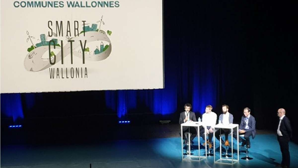 Le Cerema au salon Smart City Wallonia