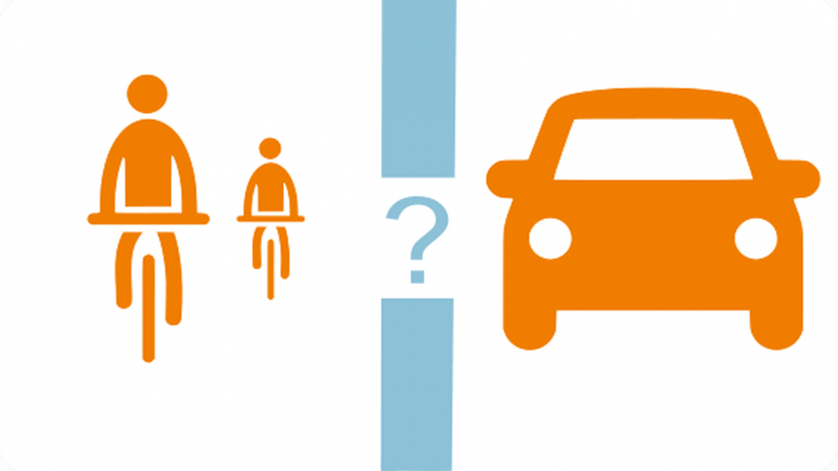 Vélos et voitures : séparation ou mixité ? Quel coût pour la collectivité?